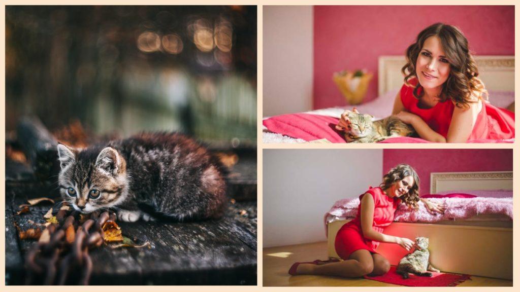 Девушка спасла котенка - который изменил ей жизнь