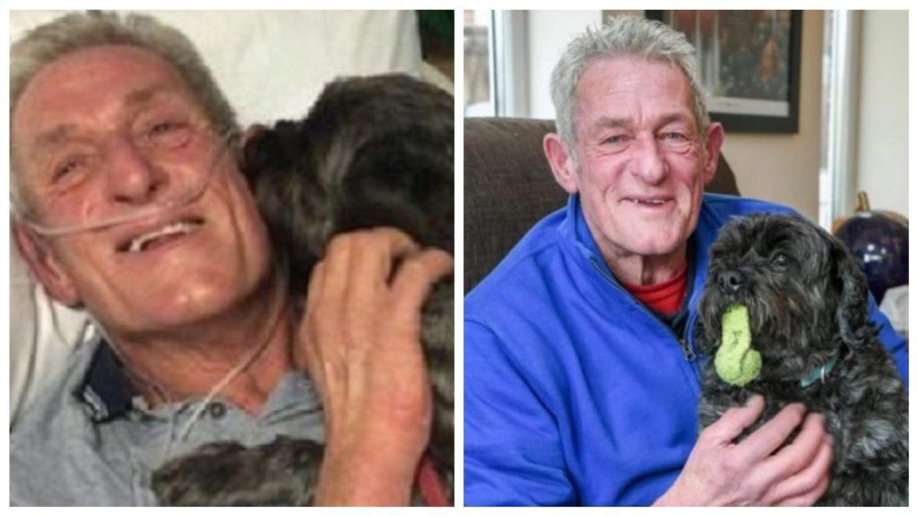 Пожилой мужчина выходит из комы и говорит, что его разбудил лай собаки